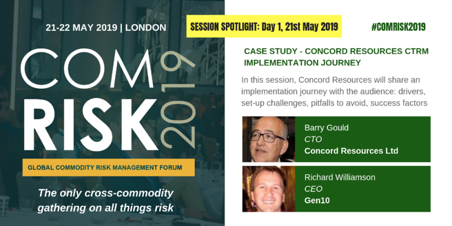 Join Gen10 and Concord Resources at ComRisk 2019