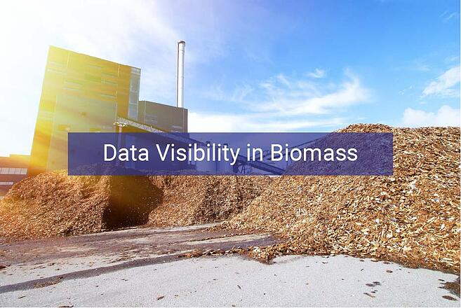 Data visibility in biomass; improve risk, traceability & profitability